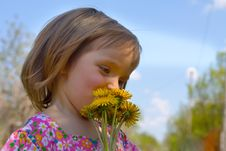 Free Spring Portrait Stock Photography - 14267762