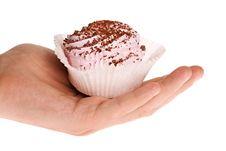 Free Dessert In Human Hand Stock Photo - 14268220