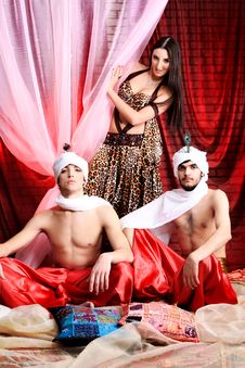 Traditional Costumes Stock Photography