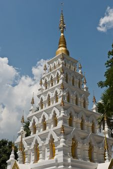 Free White Pagoda Stock Photos - 14269413