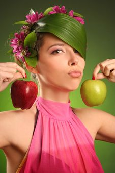 Free Two Apples Stock Photo - 14269450