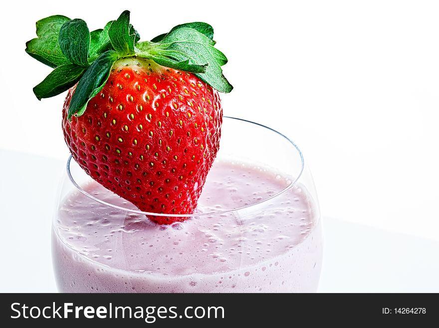 Strawberry Smoothie 2
