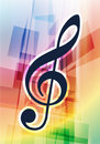 Free Musical Notes On Abstract Background Royalty Free Stock Image - 14271906