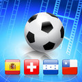 Free Soccer/Football Group H Stock Photography - 14272212