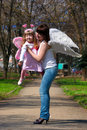 Free Girl And Mother Stock Photography - 14275182