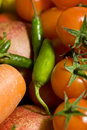 Free Peppers And Tomatoes Stock Photo - 14277260