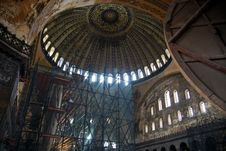 Dome Of Hagia Sophia Stock Photo