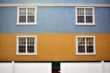 Free Color Buildings And Windows Royalty Free Stock Photography - 14271147