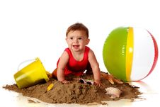 Free Sand Crawler Royalty Free Stock Photo - 14271305