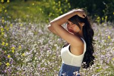 Free Japanese-Hawaiian Female In Outdoor Lifestyle Envi Stock Image - 14271331
