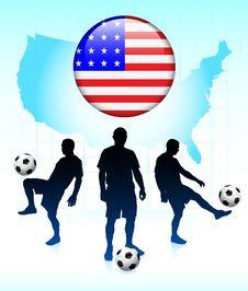 Free United States Soccer Team Stock Image - 14271401