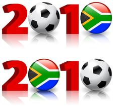 Free 2010 Soccer Football Match Stock Photography - 14271402