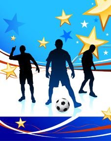 Free United States Soccer Player Stock Photography - 14271512