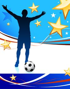 Free United States Soccer Player Stock Photos - 14271513