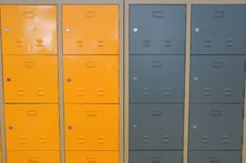 Free Locker Background Royalty Free Stock Photo - 14271545