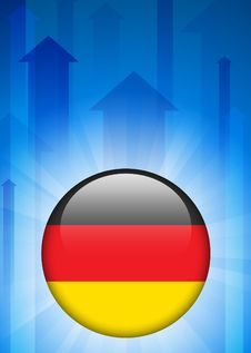 Free Germany Flag Icon On Internet Button Stock Image - 14271921