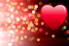 Free Valentine S Day Card Royalty Free Stock Photos - 14272488