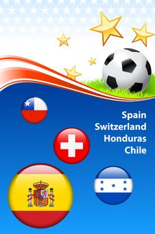 Free Global Soccer Football Event Royalty Free Stock Photos - 14272698