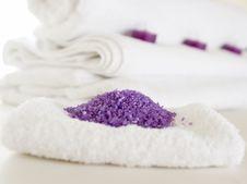 Free Lavender Sea Salt Royalty Free Stock Photo - 14273005