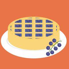 Free Black Currnt Pie Stock Image - 14273791