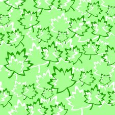 Free Leafs Background Royalty Free Stock Photo - 14274205