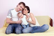 Free Happy Family Stock Photography - 14274222