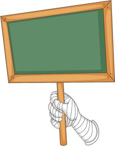 Free A Blank Board Stock Image - 14274531