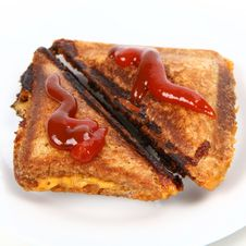 Free Toasted Sandwich Stock Image - 14274671