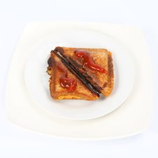 Free Toasted Sandwich Stock Images - 14274674