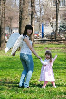 Free Girl And Mother Stock Photo - 14275060