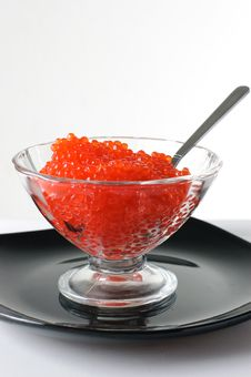 Free Caviar In A Glass Vase Stock Images - 14275064