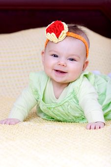 Free Sweet Baby Girl Stock Photos - 14275613