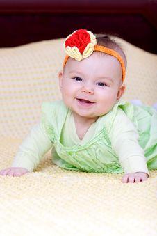 Free Sweet Baby Girl Stock Photos - 14275613