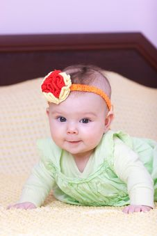 Free Sweet Baby Girl Royalty Free Stock Photos - 14275618