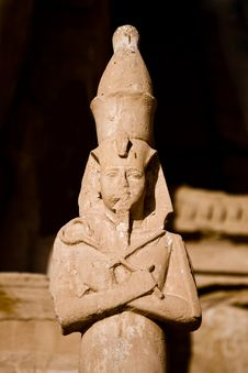 Free Stone Statue In Egypt Royalty Free Stock Photography - 14276537