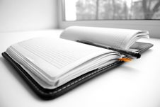 Free Notebook Royalty Free Stock Photo - 14276605