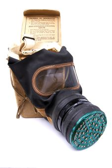 Free WW2 Gas Mask Royalty Free Stock Photo - 14276905