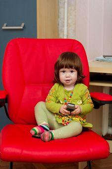 Free Sweet Baby Girl Stock Image - 14277151