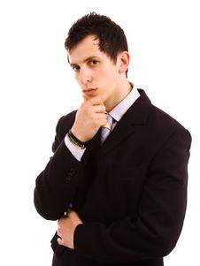 Free Business Man Royalty Free Stock Image - 14277266