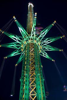 Free Illuminated Giant Carousel Stock Image - 14277271