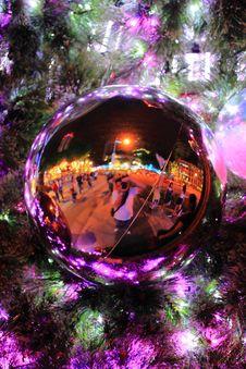 Free Christmas Decoration Ball Stock Photo - 14277450