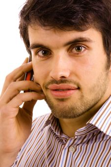 Free Man On The Phone Stock Photography - 14277472