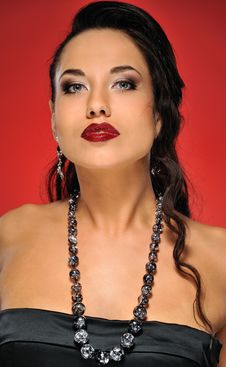 Free Beautiful Brunette Woman Royalty Free Stock Image - 14278476