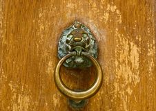 Antique Door Knocker Stock Photography