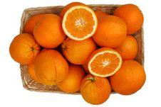 Free Orange Basket Royalty Free Stock Images - 14279089