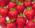 Free Close-up Of Delicious Ripe Strawberries Royalty Free Stock Photos - 14285348