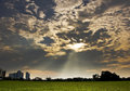 Free Crepuscular Rays Royalty Free Stock Photo - 14286325
