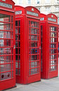 Free Typical Red London Phone Booth Stock Images - 14288194