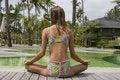 Free Girl Doing Yoga Royalty Free Stock Image - 14288946