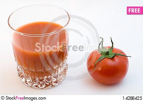 Free Tomato Juice And Tomato Royalty Free Stock Photo - 14288425